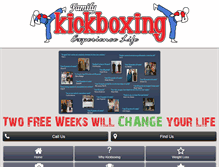 Tablet Preview of familykickboxing.net